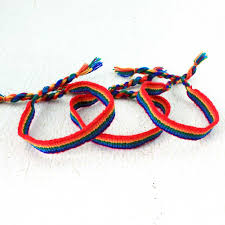 bracelet rainbow images Rainbow promises friendship bracelet 3 pack rainbow macrame jpg