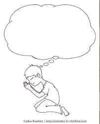 praying child coloring page and omeletta me