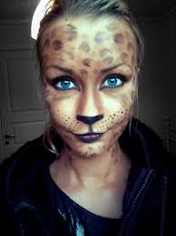 simple cat makeup halloween female cat makeup mugeek vidalondon