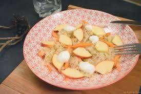 cuisiner la choucroute salade de choucroute et pomme un zeste sucrée salée au fil du thym