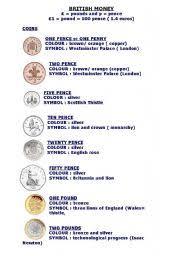english teaching worksheets british money
