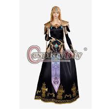 Zelda Costumes Halloween Legend Zelda Twilight Princess Fancy Dress Zelda Women U0027s