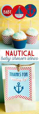 nautical baby shower ideas nautical baby shower ideas printables