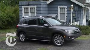2014 Volkswagen Tiguan Sel Driven Car Review The New York