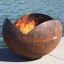 Fire Pits San Diego by Modern Fire Pit Designs Sage Outdoor Designs