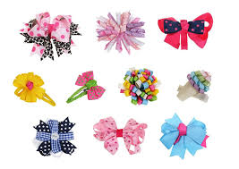 baby hair clip bundle 10pc girl baby toddler ribbon bows