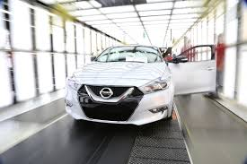 nissan altima 2016 middle east 2016 nissan maxima production kicks off in tennessee autoevolution