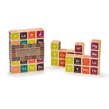 Wooden Material Element Amazon Com Uncle Goose Periodic Table Blocks Made In Usa Toys