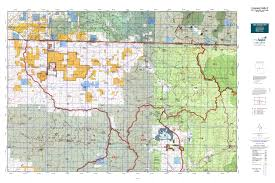 Topographical Map Of Colorado by Colorado Gmu 5 Map Mytopo