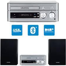 hifi design anlagen grundig m 1200 dab micro design stereo anlage hifi system mp3 usb