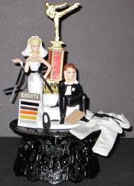 karate cake topper kung fu wedding cake topper maybe they can do one with a jiu