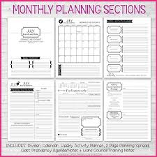 printable planner notes 2018 yw presidency planner printable my computer is my canvas