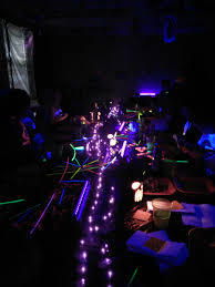 glow in the party ideas for teenagers murder mystery glow party activities
