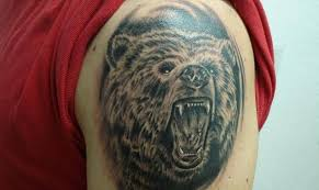 grizzly bear tattoo art and designs page 8