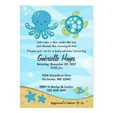 the sea baby shower invitations gallery invitation design