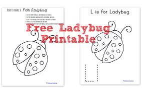 how to make a felt ladybug wildflower ramblings