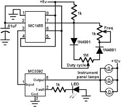 instrument panel lamp dimmer control circuit diagrams