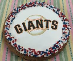 san francisco giants giant cookie cake delivered 1 800 bakery com