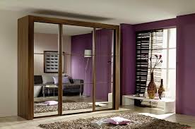 interior design grand with black mirror sectional doors wall