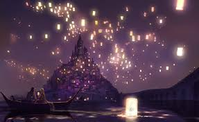 rapunzel and eugene letting go of lanterns google search