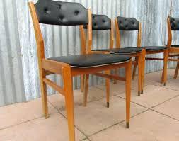 vinyl chair covers dining chairs vintage retro mid century orange vinyl dining