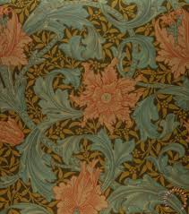 William Morris Wallpaper by William Morris U0027single Stem U0027 Wallpaper Design Painting U0027single