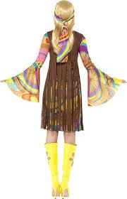 1960 halloween costume amazon com smiffy u0027s women u0027s 1960 u0027s groovy lady costume clothing