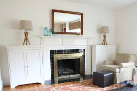 Storage Furniture Living Room Furniture Open Plans Built In Wall White Cabinets Shelves Living