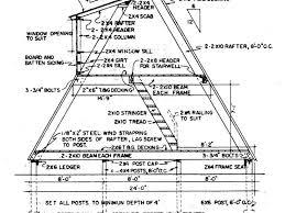 a frame building plans a frame house plans canada home design