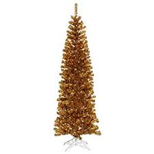 vickerman pre lit antique gold artificial tinsel