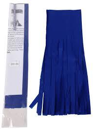 royal blue tissue paper paper tassel kit 4 tassels royal blue