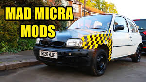 nissan micra japanese import the jdm nissan micra gets a makeover youtube