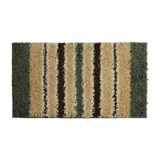 olive green shag rug wayfair