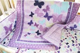 cute pink butterfly baby bedding all modern home designs