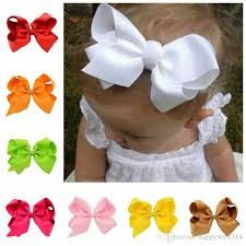 baby hair clip baby hair diy 6 ribbon bows with alligator boutique