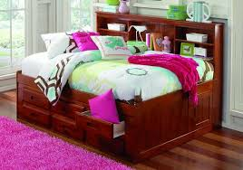 full beds with storage