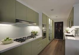 Modern Green Kitchen Cabinets Countertops Backsplash Simple Kitchen Minimalist Modern