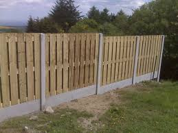 install a wooden fence panels best house design