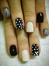 Nail Art Design Black 167 Best Black U0026 White Images On Pinterest Black White Make Up