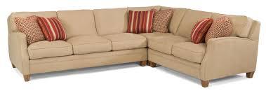 flexsteel sectional sofa flexsteel lenox three sectional sofa with raf loveseat dunk
