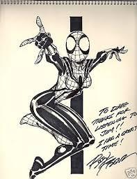 spider sketch by ron frenz in dave kopecki u0027s spider man