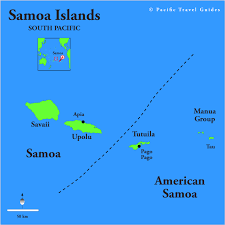 map samoa samoa map and samoa satellite images
