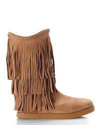 josie ugg boots sale koolaburra brown fur lined josie fringe boots product 1 25002379 1 531092031 normal jpeg