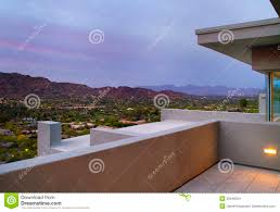 Southwest Home Plans Arizona Southwest Home Backyard Patio Deck Stock Photo Image