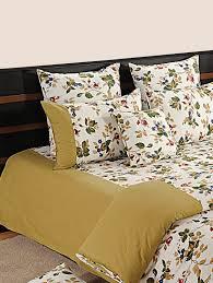 buy vintage floral bed linen set by swayam online shopping for