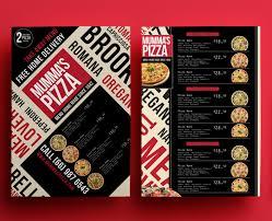 menu flyer template pizza menu flyer template burger house menu