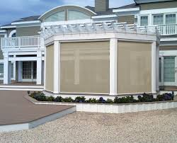 Wind Screens For Patios by Screens And Outdoor Shades In Ma Retractable Sondrini Com