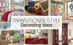 make the shift to a transitional home décor style
