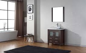 30 Inch Modern Bathroom Vanity Virtu Usa Dior Single Sink 30