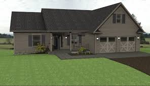 country ranch house plans affords all the spaces of a bigger